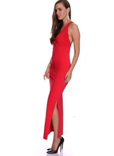 Missguided Abiye Elbise Kırmızı